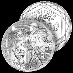 100€ Argent Armistice 2018