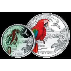 3 €uros Le Perroquet 2018