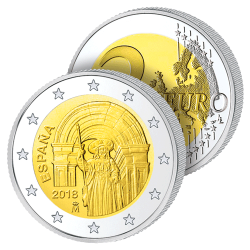 2 Euros Espagne 2018 –...