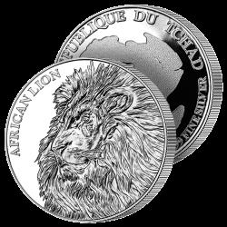 5.000F Argent Le Lion 2018
