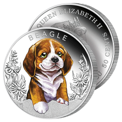 Demi-Dollar Le Beagle 2018