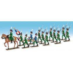 Le Régiment de Gendarmerie...