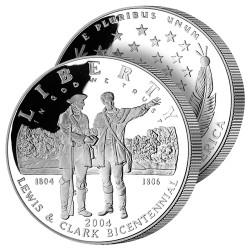 Dollar Argent Lewis & Clark