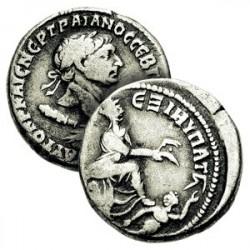 Tétradrachme de Trajan