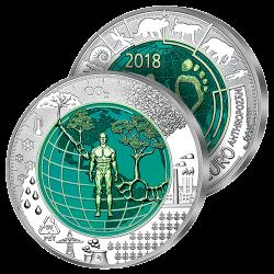 25 €uros Précieux Niobium 2018