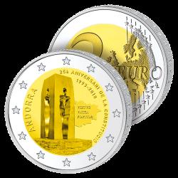 2 Euros Andorre 2018 – 25...
