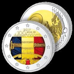 2 Euros Andorre Couleurs –...