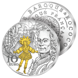 10€ Argent Baroque 2018
