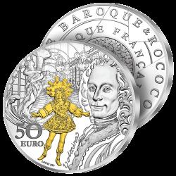 50€ Argent Baroque 2018
