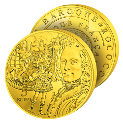 5€ Or Pur Baroque 2018