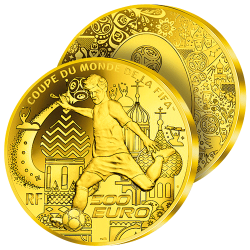 500€ Or Pur Coupe du Monde...