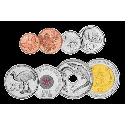 Les 8 Monnaies Papous