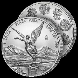 Peso Argent Pur Liberté 2018
