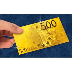 Les Billets Euros 24 Carats...