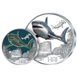 3 €uros Le Requin 2018