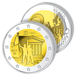 2 Euros Belgique 2018 – Mai...