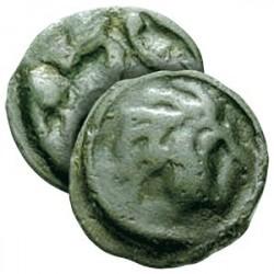 Monnaie Gauloise en Bronze