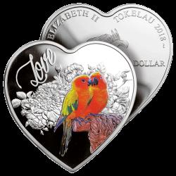 Monnaie Amour 2018