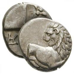 Hémidrachme Grec du Lion