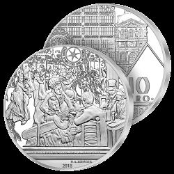 10€ Argent Bal du Moulin de...