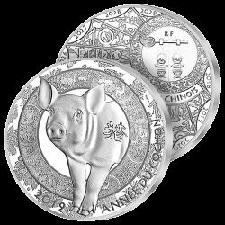 10€ Argent 2019 Année du...