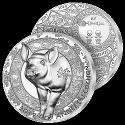 20€ Argent Pur 2019 Année...