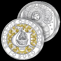 10€ Argent Archange Uriel...