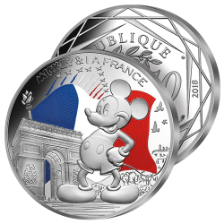 50€ Argent Mickey & la...
