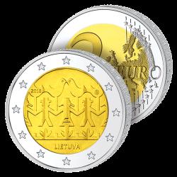 2 Euros Lituanie 2018 –...