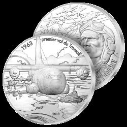 10€ Argent Le Transall 2018