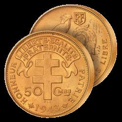 Demi-Franc France Libre 1943