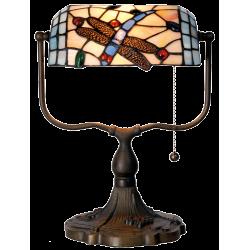 Lampe Libellule Style Tiffany