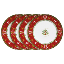 Les 4 Assiettes de Noël
