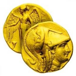 Véritable Pièce d'Or d'Alexandre