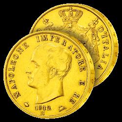 40 Lires Or Napoléon Imperator