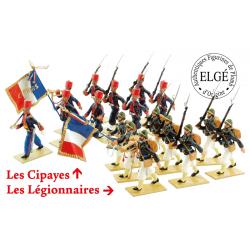 Les Cipayes & Les Légionnaires