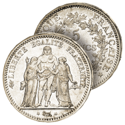 5 Francs Hercule Seconde...