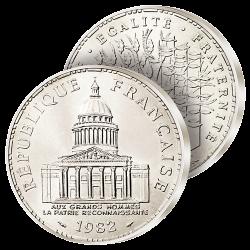 100F Argent Panthéon 1982-1984
