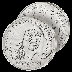 100F Argent Descartes 1991