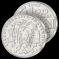100F Argent 8 Mai 45 – 1995