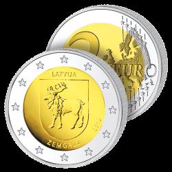2 Euros Lettonie 2018 –...