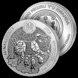 50 Francs Année du Cochon 2019