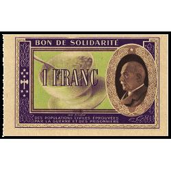 1 Franc Maréchal Pétain