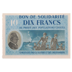 10 Francs Maréchal Pétain