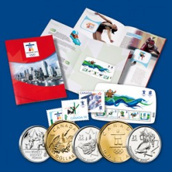 Collection des Jeux Olympiques Vancouver 2010