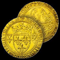 Écu d'Or de Charles VII Le...