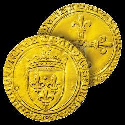 Écu d'Or de Charles VIII...