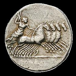 Denier des Chars de Rome