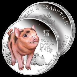 Demi-Dollar Année du Cochon...