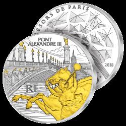 10€ Argent Pont Alexandre III